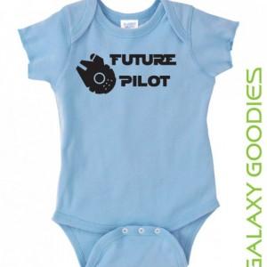 Future Pilot Millennium Falcon - Star Wars Onesie