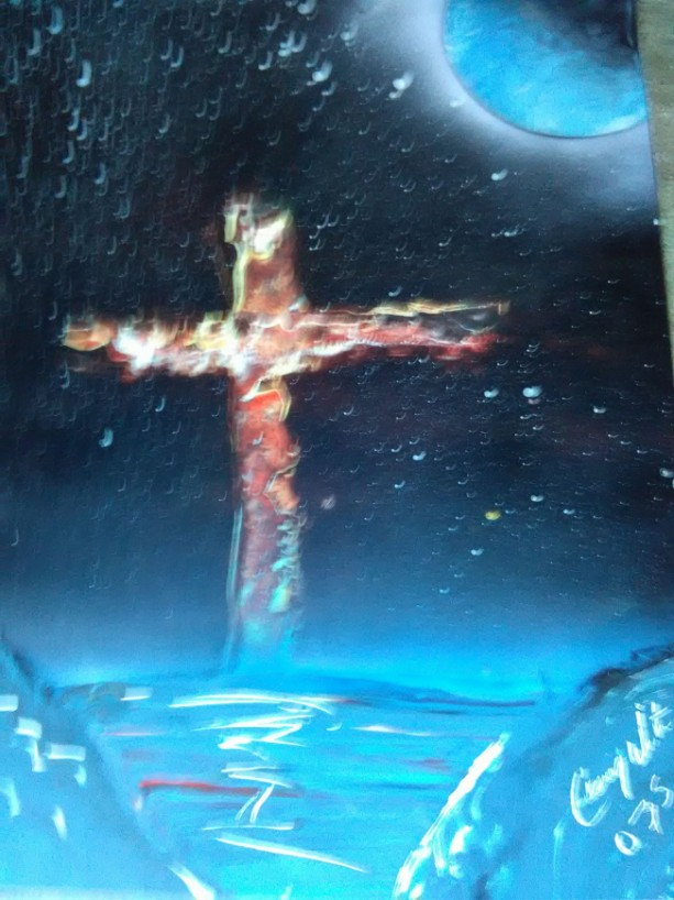 Burining Cross