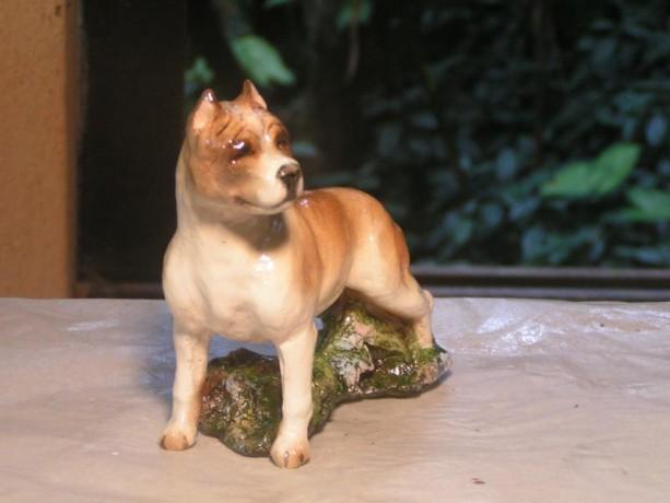 Hevener American Staffordshire Terrier Figurine