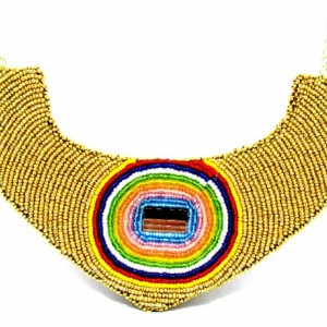 Tribeca Beaded Tribal Necklace