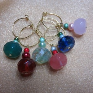 Wine Glass Charms #12