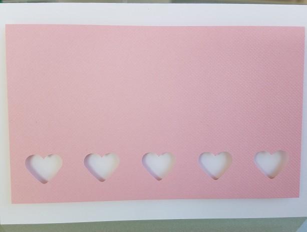 Envelope of Hearts Blank Notecards, 5-Pack