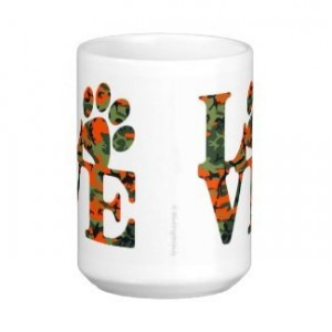 Dog Lover Mug - Love Paw Print 1 - Pet Lover - Dog Lover Gift - Cat Lover Mug - Pet Lover Gifts - Dog Coffee Mug - Cat Coffee Mug - Dog Mug
