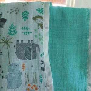 "Baby gift...baby blanket-toddler blanket- tag along blanket-18""×18"""