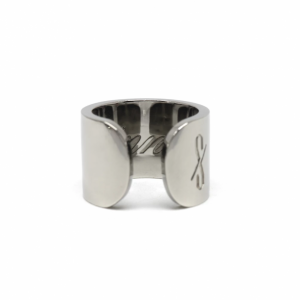 TALL SINNER RING: GUNMETAL (MATTE)