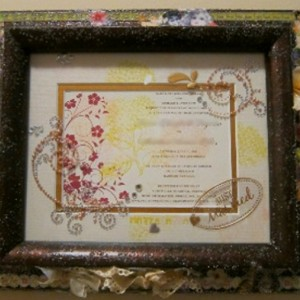 Decorated Wedding Invitations