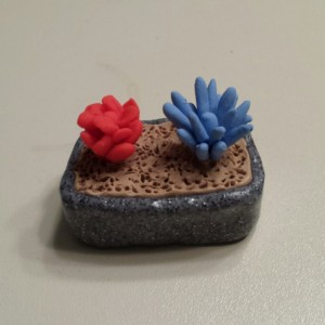 Dollhouse Miniature Cactus Bonsai