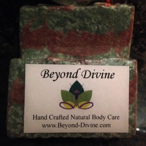 Set of 2 Rosemary Mint Spa Soap Bar|6oz+|Handmade|All Natural