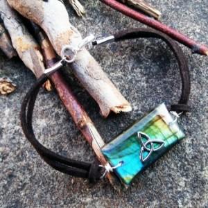 Labradorite Goddess Bracelet