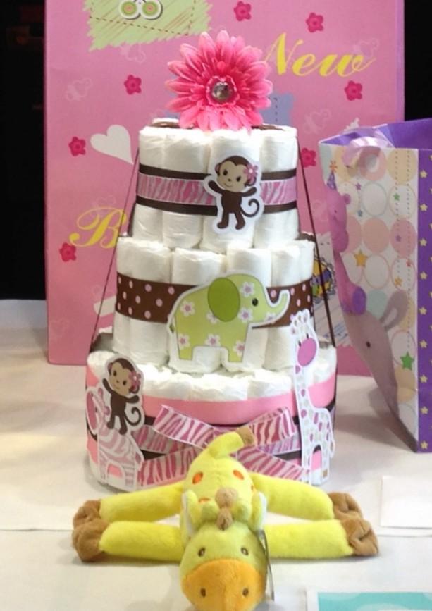 Diaper Cake (3 Tier)
