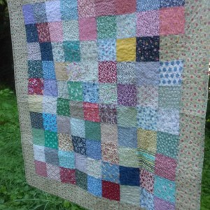 Baby Girl Farmhouse Quilt