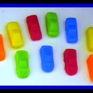 Car Soap - Mini Race Cars - 20 Soaps - Cars - Soap for Boys - Party Favors, Birthdays