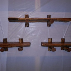 Decorative shelf set