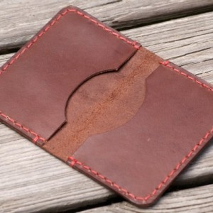 Leather Wallet, Leather Card Wallet, Leather Card Holder, Minimalistic Wallet, Handmade Leather Wallet, Slim Bifold Wallet