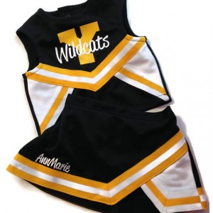 Custom Cheerleading Uniform, 2T or 4T