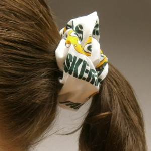 Green Bay Packer scrunchy