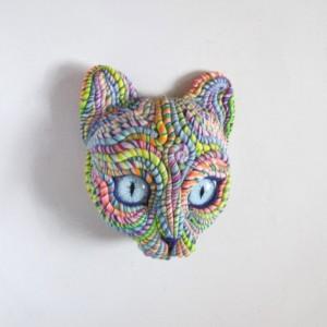 Cosmic Cat Sculpture