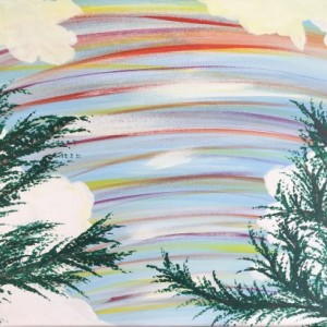 Dreaming  original abstract acrylic painting
