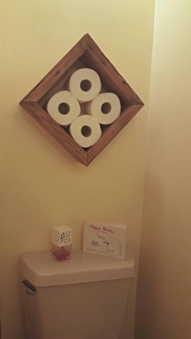 Decorative Toilet Paper Holder Aftcra