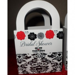 Bridal Shower Favor Box