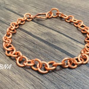 Copper Chain Link  Bracelet