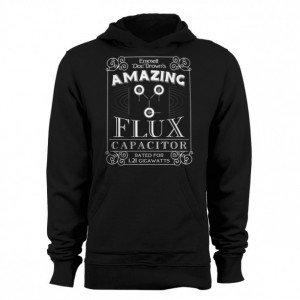 """Back to the Future """"Doc Brown's Flux Capacitor"""" Hoodie"""