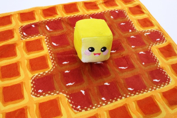 waffle blanket kawaii wafffle baby butter blanket kawaii minky blanket waffle baby blanket security blanket kawaii lovie lovey baby blanket