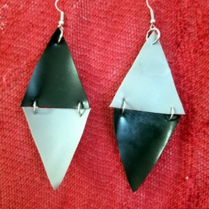 Reverse Triangle Earrings