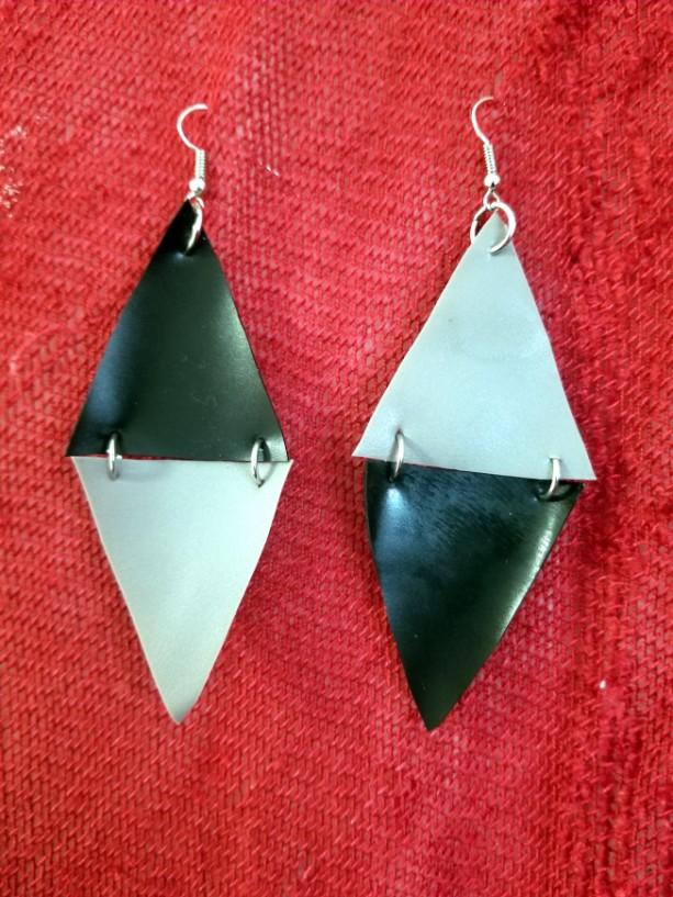 Reverse Triangle Earrings