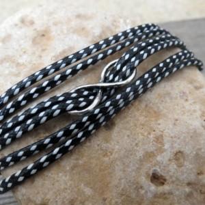 Men's Bracelet - Men Infinity Bracelet - Men's Jewelry - Men's Gift - Boyfriend Gift - Husband Gift - Present For Men - Gift For Dad - Male