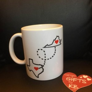 You're my person custom mug State to state