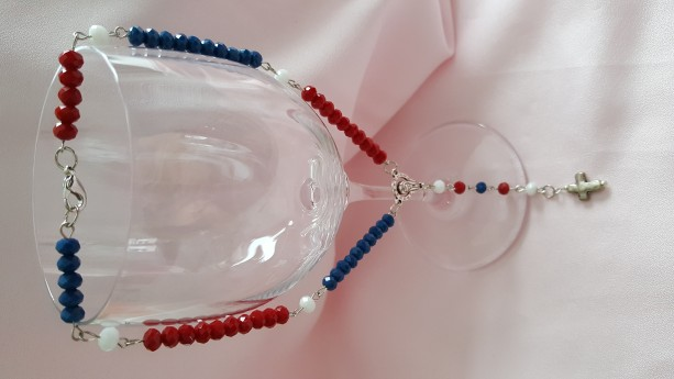 Rosary Beads -Patriotic Travel