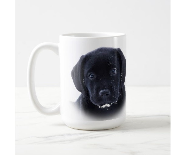 Black Lab Mug 11SP- Labrador Mug - Black Lab Gifts - Labrador Gifts - Lab Dog - Lab Mom - Labrador Retriever - Black Dog Art - Black Lab Art