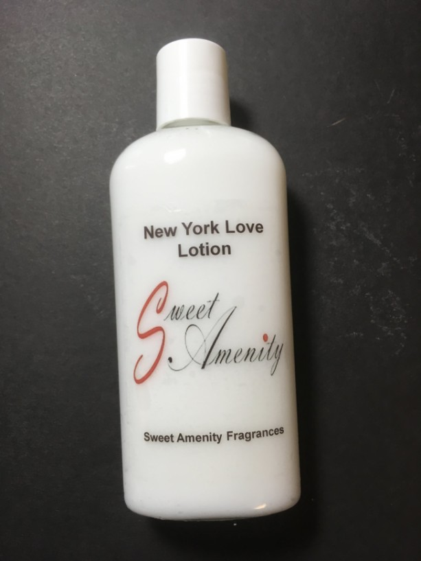 New York Love-Scented Hand and Body Lotion for dry skin