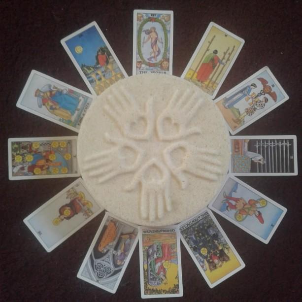Tarot Card Inside Bath Bombs Set of 2
