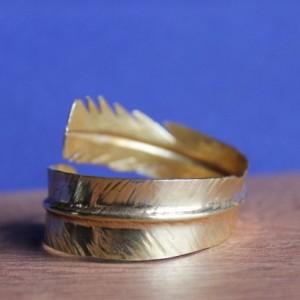 Feather Brass Cuff, Brass Cuff, Bracelet, Feather Cuff, Brass Bracelet, Cuff, Brass Feather Cuff, Yellow Brass, Brass