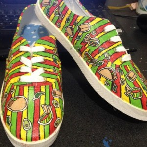 Mexican Food Shoes