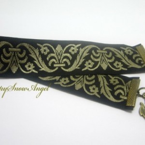 Dragon Ribbon Bookmark, Fantasy Bookmark, Tapestry Ribbon