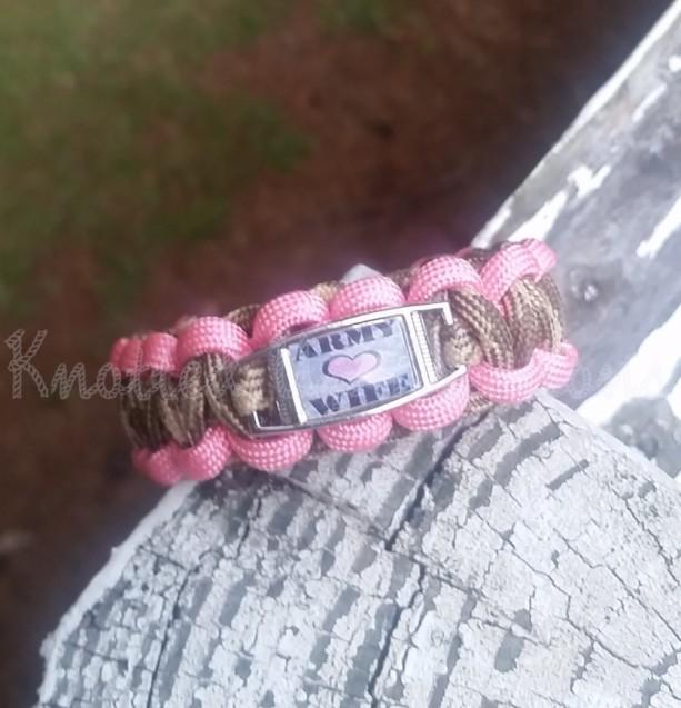 Army Wife Paracord Bracelet
