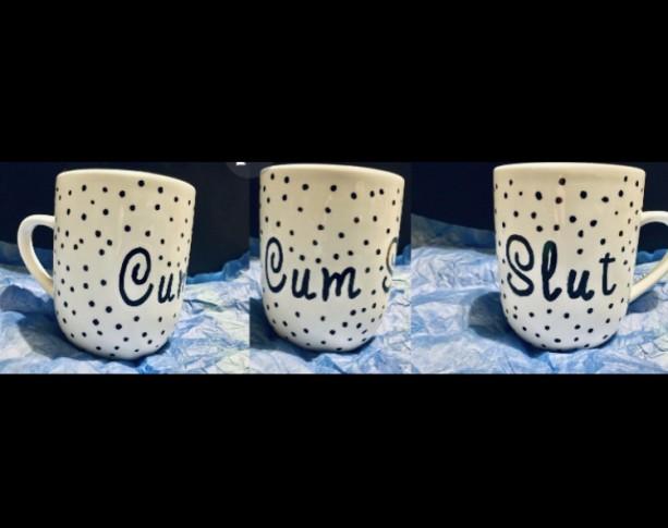Personalized Cum-Slut Mug