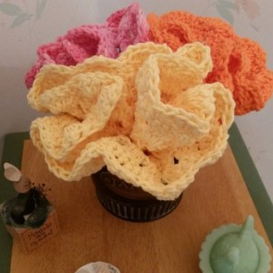 Dishcloths Bouquet Baby Washcloths Crochet
