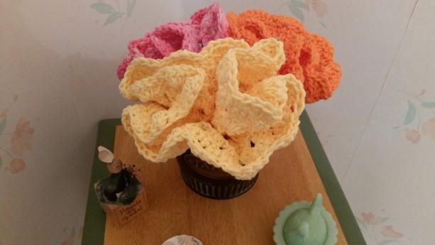 Dishcloths Bouquet Baby Washcloths Crochet