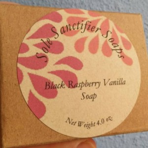 Black Raspberry Vanilla (Bath and Body Works type) Soap,  Sweet and Tart, Gift for Women, Teens, Mother's Day