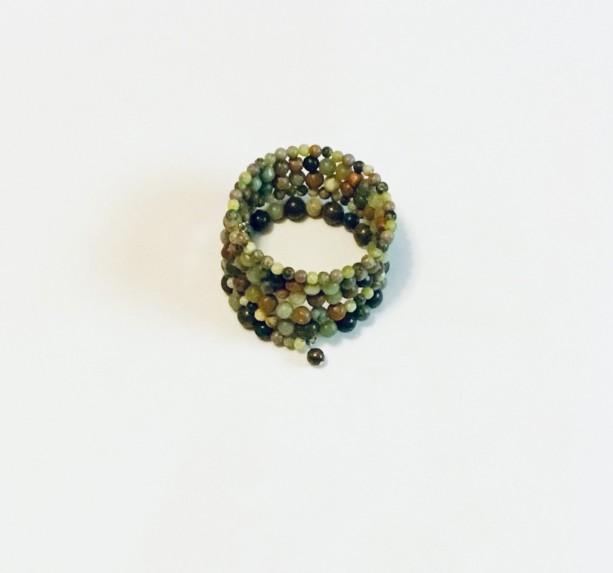 """Shades of Green"" Bracelet"