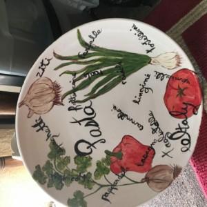 Italian large pasta bowl
