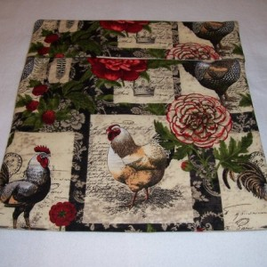 Roosters,Chickens Print  Microwave Bake Potato Bag,Kitchen,Dining,Microwave Potato,Gifts,Housewarming