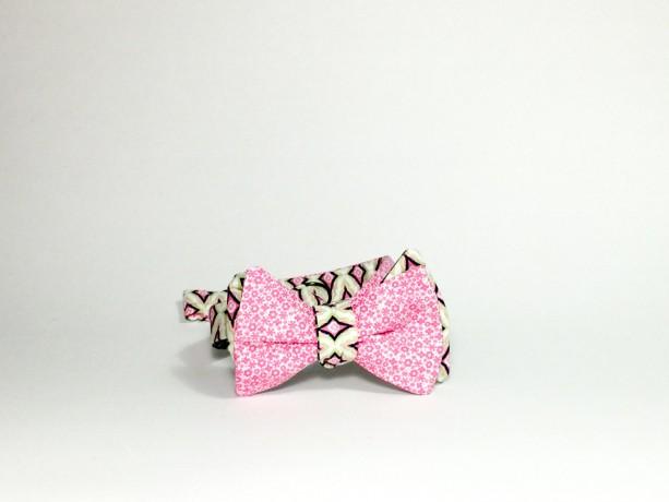 self tie bow tie reversible bow tie groomsmen tie wedding accessories diamond bow tie magnet bow tie reversible bowtiepink flower tie green