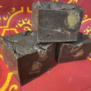 Reese's Peanut Butter Cup Fudge  *nut free*  1/2 pound  **FREE SHIPPING**