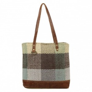 Myra Bag Blocks Blend Tote Bag