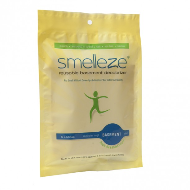 SMELLEZE Reusable Basement Odor Removal Deodorizer